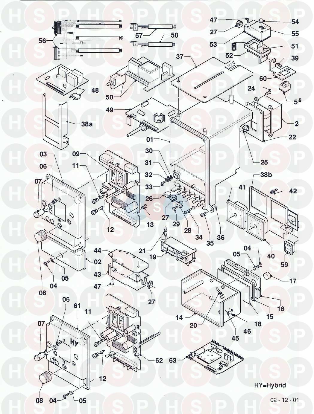 Vaillant THERMOCOMPACT FF VC GB 242 E (12 CONTROL BOX