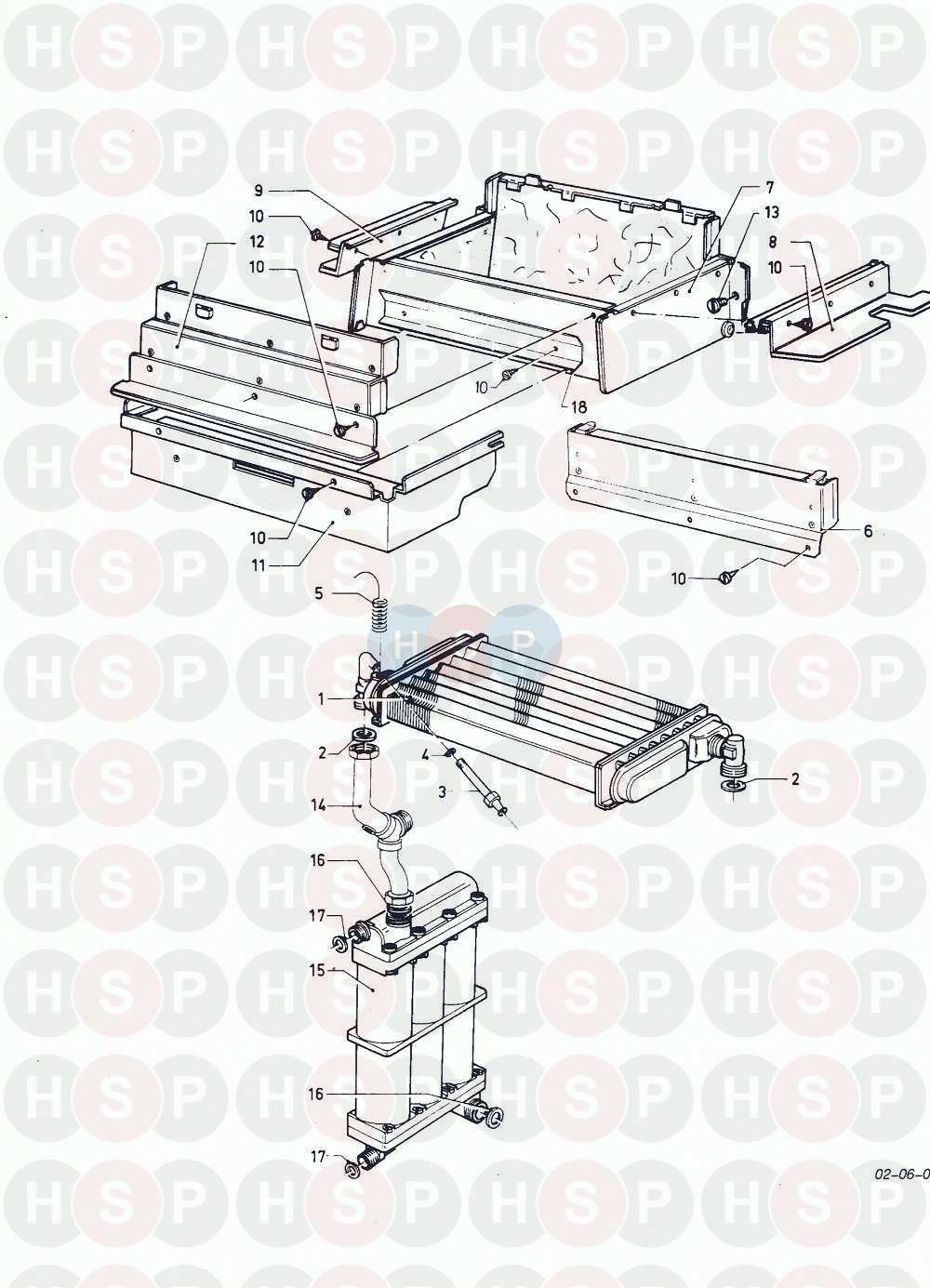 Vaillant COMBI COMPACT FF VCW 282 E 1988-1995 Appliance