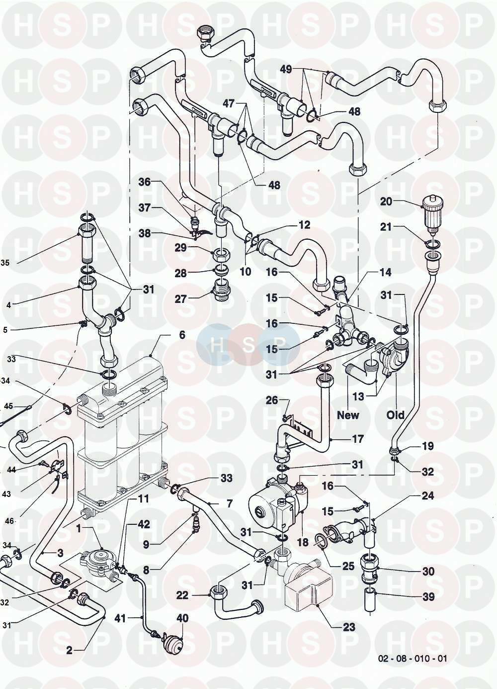Vaillant COMBI COMPACT FF VCW 242 E 1988-1995 (08