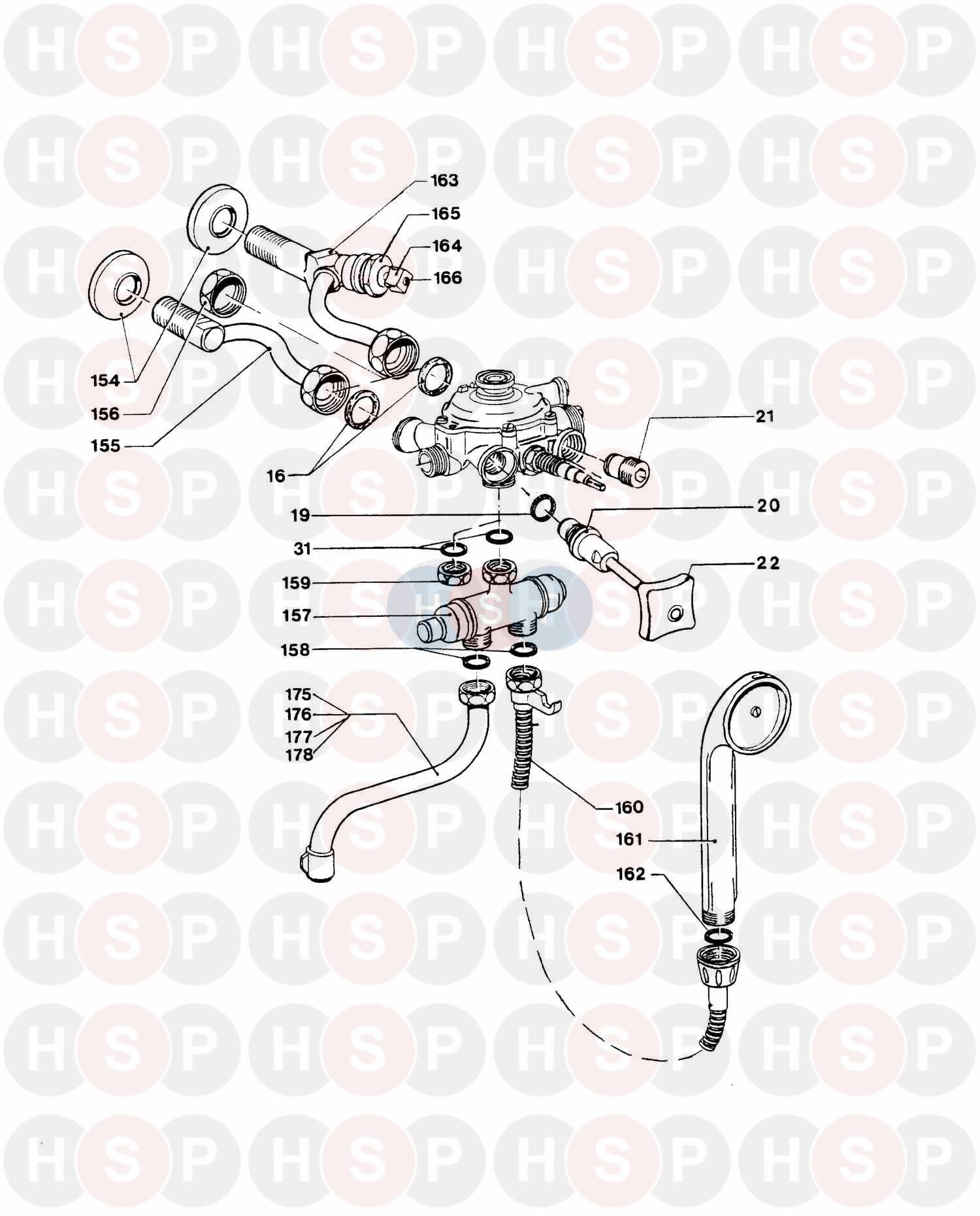 Vaillant MAG-SINE 250/8 ARTZH HP (ACCESSORIES) Diagram