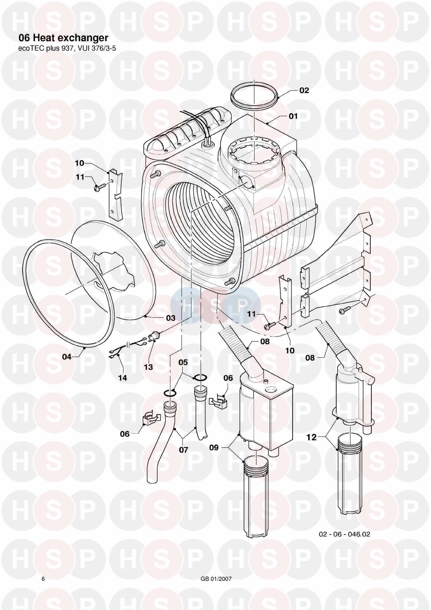 Vaillant ecotec plus 937 vui 3763 5 2006 2012 06 heat exchanger 06 heat exchanger diagram for vaillant ecotec plus 937 vui 3763 5 2006 cheapraybanclubmaster Images