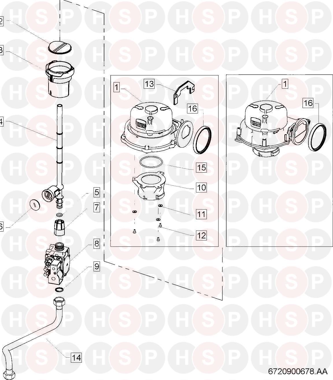 Worcester Greenstar Fs 42 Cdi  Gas Valve Diagram