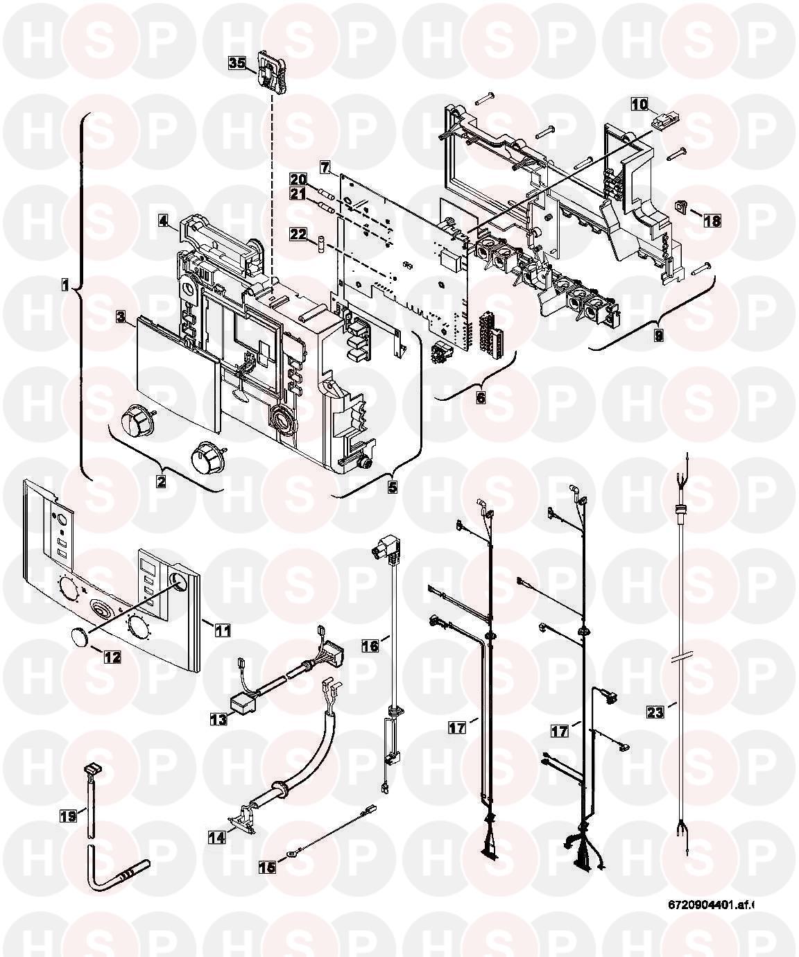 Worcester GREENSTAR 30 CDI CLASSIC REGULAR ErP Appliance