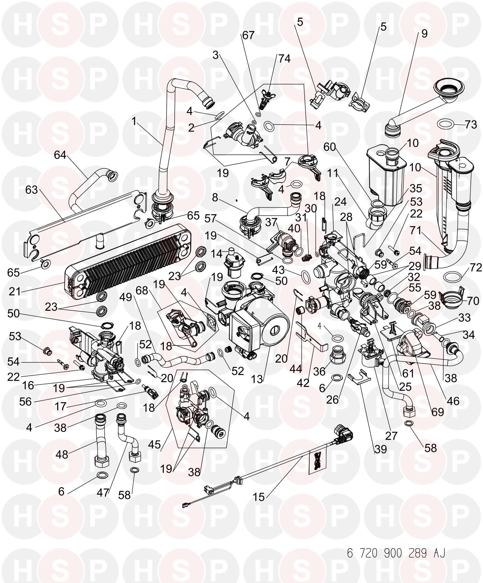 worcester greenstar 30 si  hydraulics  diagram