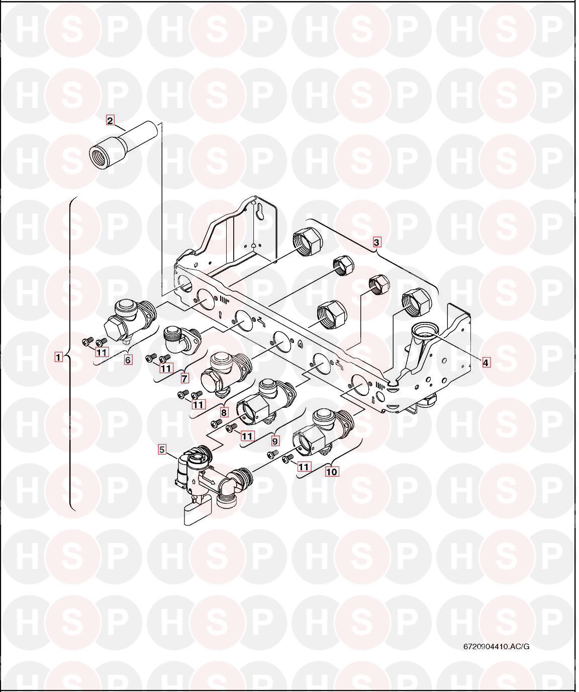 Worcester GREENSTAR 38CDI CLASSIC Appliance Diagram
