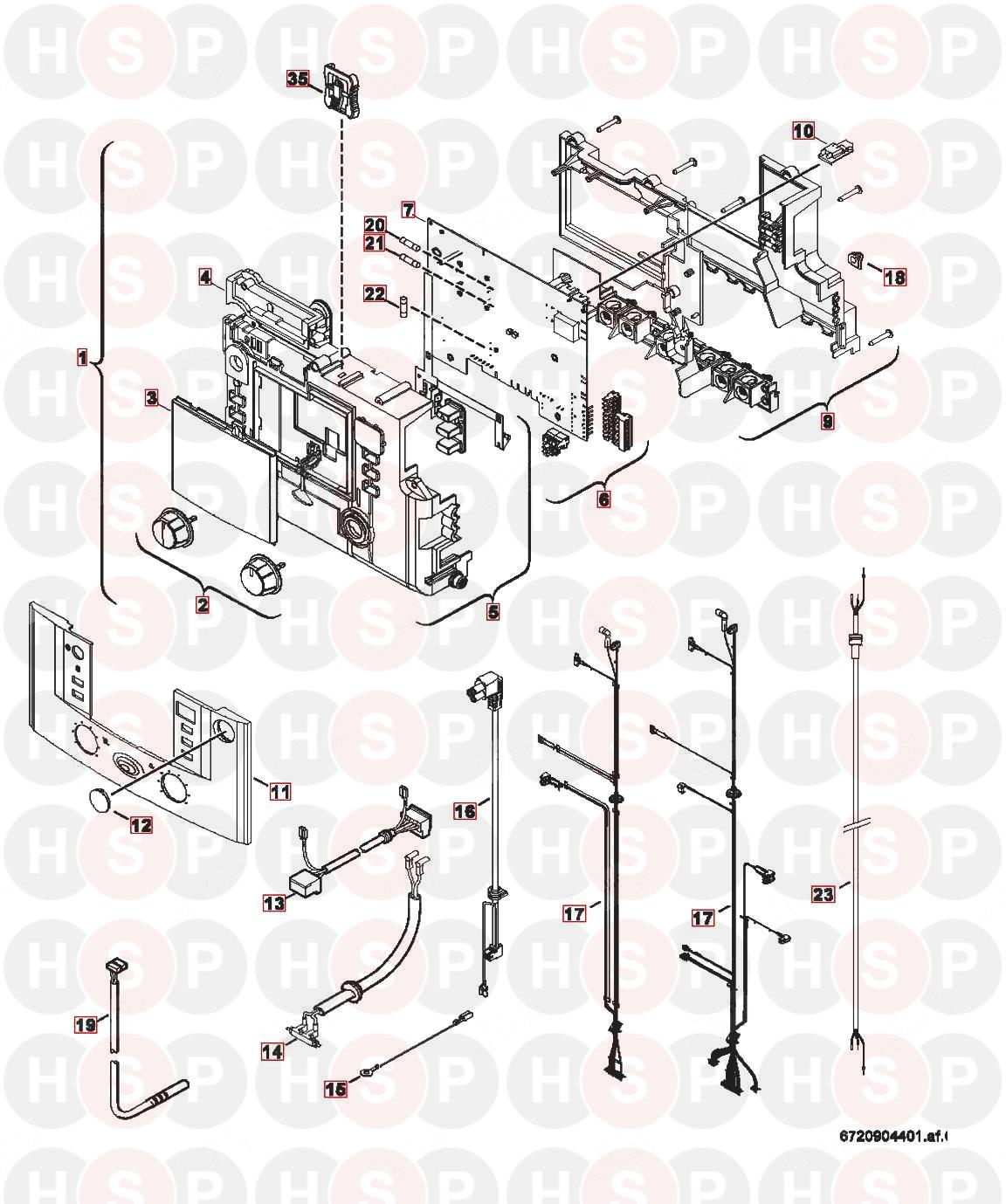 Worcester GREENSTAR 34CDI CLASSIC ERP Appliance Diagram
