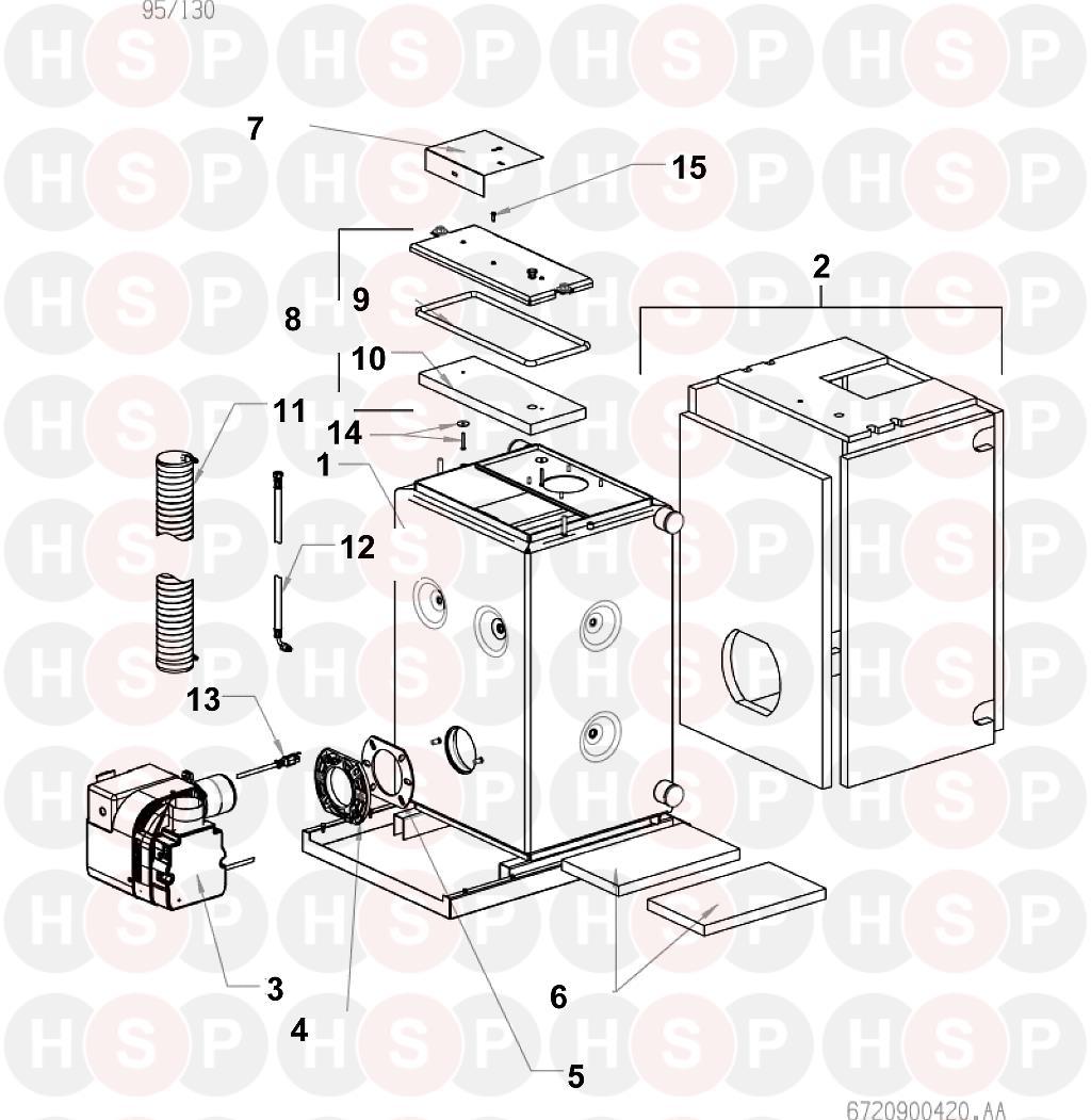 Boiler manuals: worcester camray 5 utility 65/95.