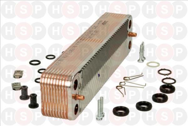 Worcester greenstar highflow 440 cdi ecs 20 p échangeur de chaleur 87161082120