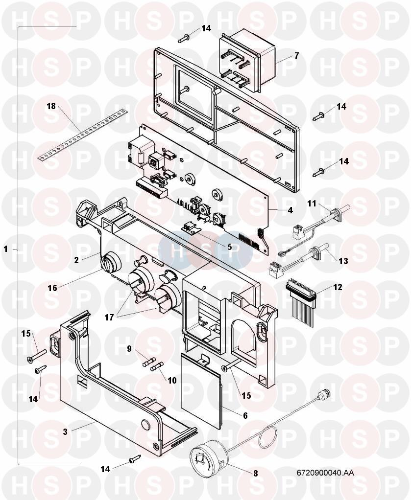 worcester 24si ii  electrical  diagram