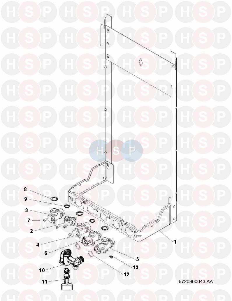 worcester 24si ii  wall jig  diagram