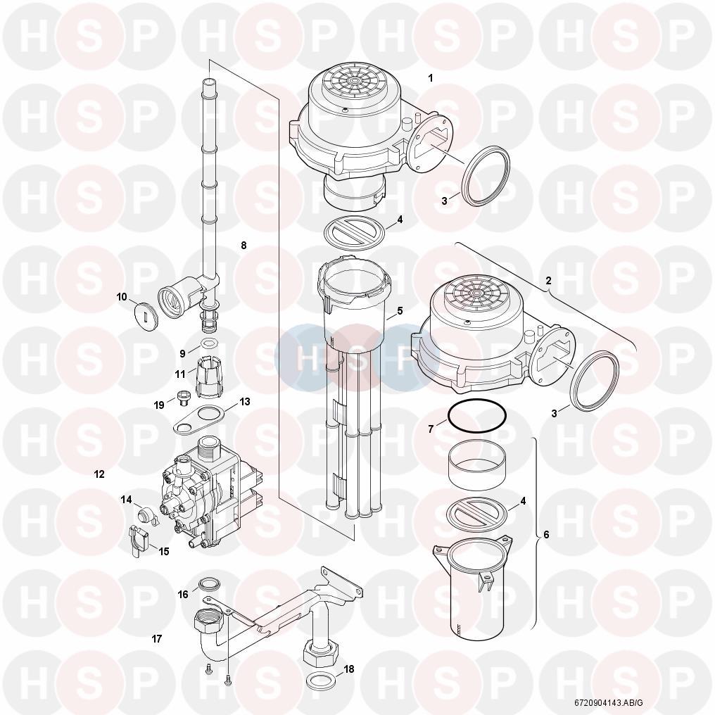 worcester greenstar r30 he combi  gas valve  diagram